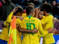 Jesus bagged 2 for Brazil in Prague. GOAL