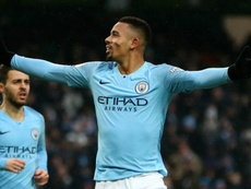 Jesus said Manchester City's strength in depth has made life tougher for him. GOAL