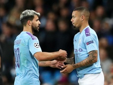 Jesus happy to play wide for City. Goal