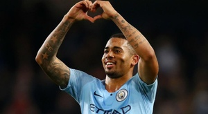 Jesus says form will go out of the window when City face United. GOAL