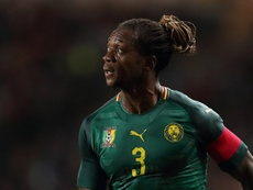 Le Coq Sportif collabore avec le Cameroun. AFP