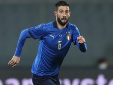 Bonucci and Gagliardini (pictured) will miss Italy's final two Nations League games. GOAL