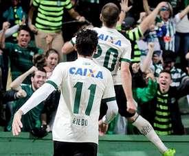 Rildo atuando pelo Coritiba. Goal