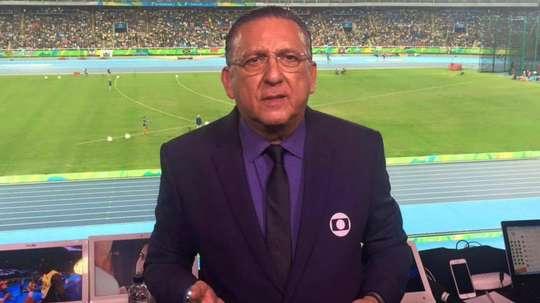 Galvão Bueno critica Tite e pede Gabigol e Cebolinha juntos na seleção. GOAL