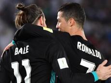 Os homens do gol neste jogo: B11 e CR7. Goal