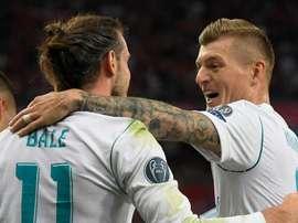 Kroos punta il dito su Bale. Goal