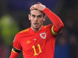 L'attaccante gallese del Real M. Gareth Bale.