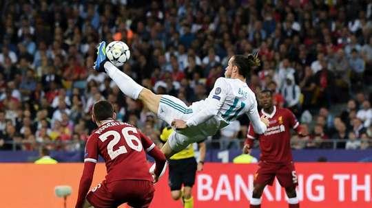 Bale's overhead kick did not win the Puskas Award. GOAL