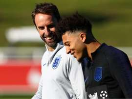 Southgate to assist Sancho. GOAL