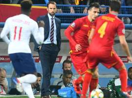 Gareth Southgate claimed to have heard racist chanting in Montenegro. GOAL