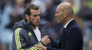 Zidane defended Gareth Bale after the latest controversy involving the Welshman. GOAL