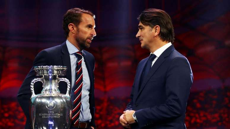 Southgate is looking forward to the huge clash between England and Croatia at Euro 2020. GOAL
