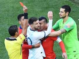 Messi a laissé parler sa colère après la finale de Copa América. Goal