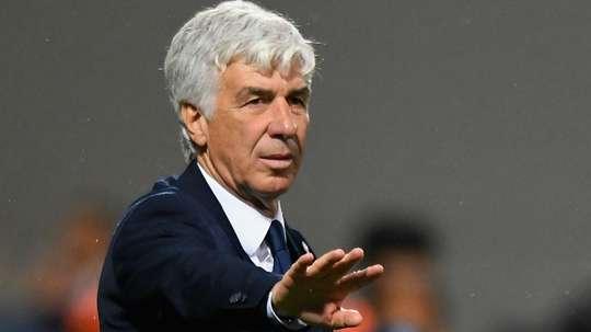 L'allenatore dell'Atalanta Gasperini. Goal