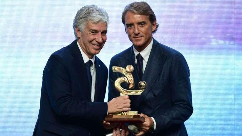 Gran Galà del Calcio, premiati l'Atalanta e Gasperini