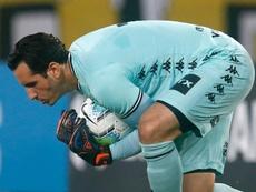 Botafogo trouxe Honda e Kalou, mas o herói continua o mesmo: Gatito. AFP