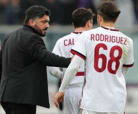 AC Milan are fine with Gattuso – Rodriguez. Goal