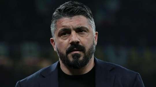 Gattuso écarte Allan de son groupe. GOAL