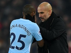 Fernandinho to remain in defence