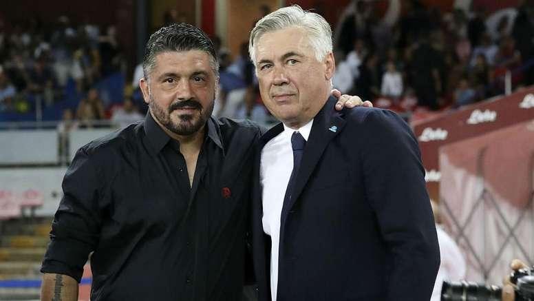 Napoli, Ancelotti non ha gradito le 'frecciate' di Gattuso