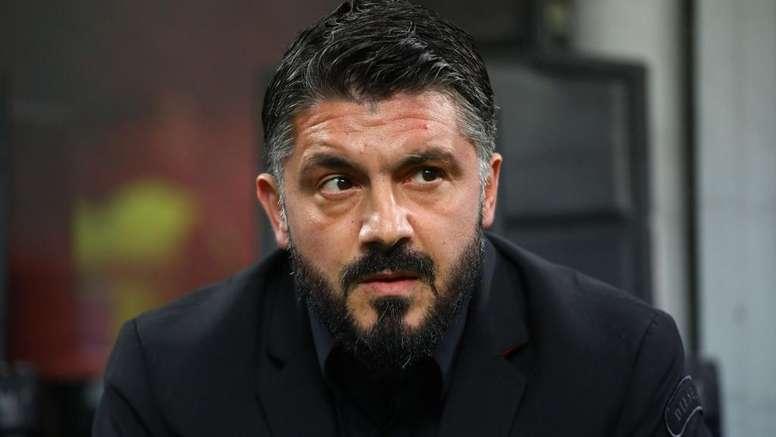Gattuso se confie. Goal
