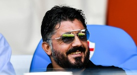 Ancelotti offered Gattuso advice on improving Napoli. GOAL