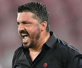 Gennaro Gattuso is under pressure at AC Milan. GOAL