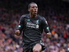 Wijnaldum was almost substituted six minutes before he scored. GOAL