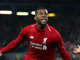 Wijnaldum said he had a point to prove from the bench. GOAL