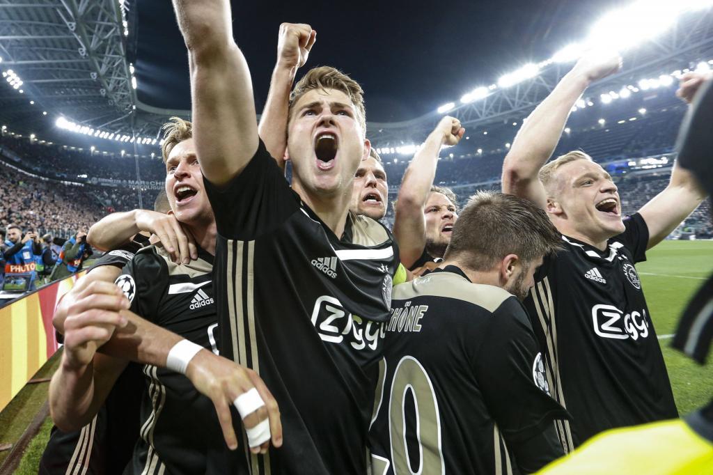 Ajax Juventus Twitter: Juventus-Ajax : Toutes Les Réactions