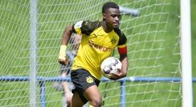 À 14 ans, Youssoufa Moukoko affole les compteurs pour Dortmund. Goal