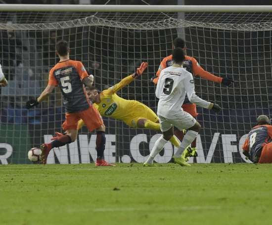Montpellier were one of the sides to be eliminated. GOAL