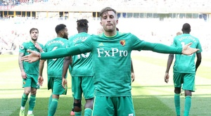 Deulofeu was once again crucial for Watford. GOAL