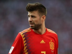 Pique has called time. GOAL