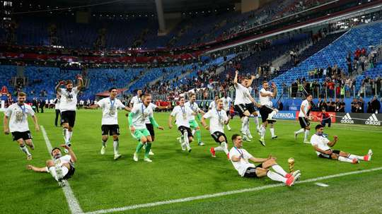 Germany dominate the Confederations Cup team of the tournament. GOAL