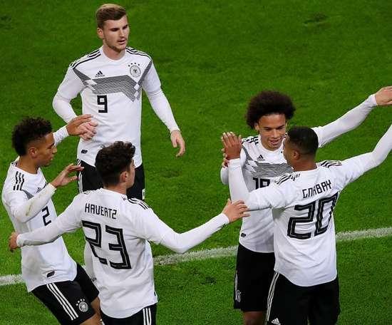 Germany Russia 11-15-18. Goal