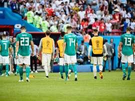 """Queda alemã mantém várias """"maldições"""".Goal"""