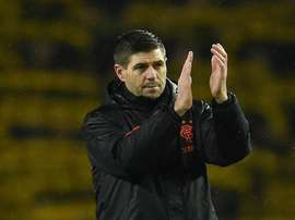 Rangers showed 'character and guts' to go through in Europa League, says Gerrard. AFP