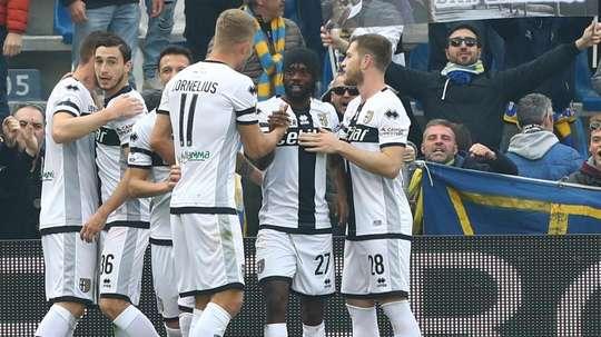 Il Parma sogna l'Europa. Goal