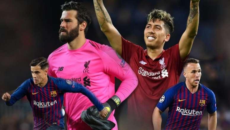 Antes da Copa América, Barcelona e Liverpool podem ditar ânimos na Seleção.