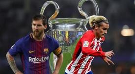 Lista da UEFA dá um recado para Griezmann e Messi: a Champions League é obrigação. Goal