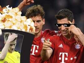 O Bayern goleou o Dortmund e assumiu a liderança da Bundesliga. Goal