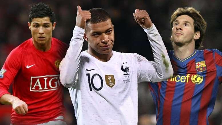 Mbappé atingiu os 110 golos como profissional. Goal