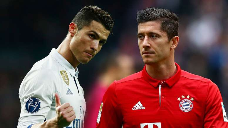 Pin Cristiano Ronaldo Robert Lewandowski 17491eb529d1a