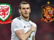 Bale foda do jogo contra a Espanha. Goal