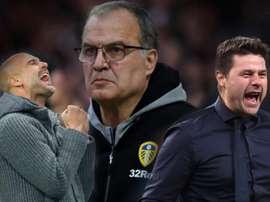 City e Tottenham: espetáculo no mais alto nível contrasta com Leeds do 'mentor' Bielsa.