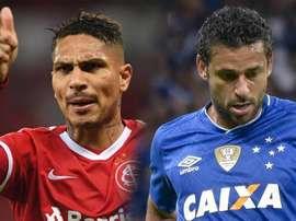 Fred e Guerrero: camisas 9 de Cruzeiro e Inter vivem momentos opostos