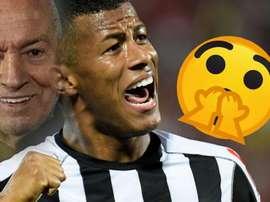 """Gol de Arthur Gomes? Torcida do Santos não acredita e """"esquece"""" corneta"""