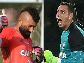 Comparação entre os dois goleiros. Goal