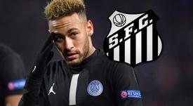 Santos desiste de suspensão a Neymar